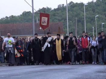Beranci nakon dva dana pješačenja stigli do manastira Ostrog