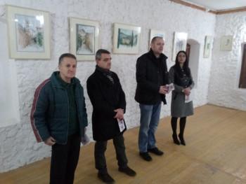 Foča: Otvorena izložba akvarela Stanka Rodića iz Novog Sada