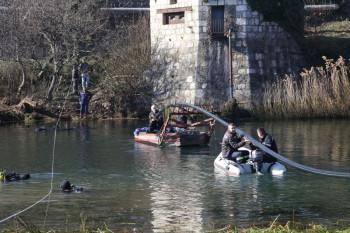 Zamijenjena stara cijev za tehničku vodu u koritu Trebišnjice