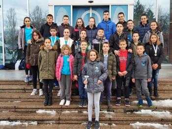 Пливачи  ПВK 'Леотар' освојили пехар и 19 медаља  у Сарајеву