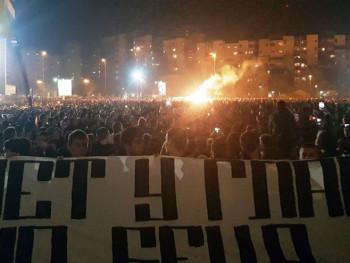 Хиљаде људи испред највећег храма у Црној Гори