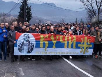 Око 140.000 људи на молебанима и литијама у Црној Гори