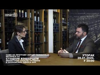 Najava: Aktuelni Intervju sa Stašom Košarcem (VIDEO)
