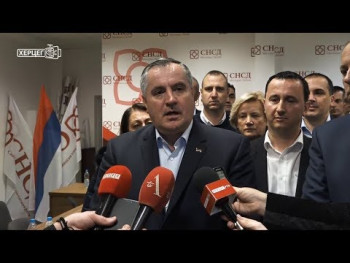 Višković: Očekujemo da SNSD bude odlučujuća politička struktura u Trebinju i cijeloj RS (VIDEO)