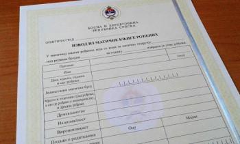Gacko: Smanjen broj upisa u matične knjige, veći broj izdatih dokumenata
