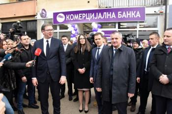 Vučić u Drvaru: Došli smo da obiđemo ono što smo uradili