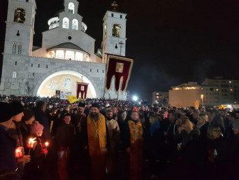 Mitropolija crnogorsko-primorska: Crkva nije rušitelj države