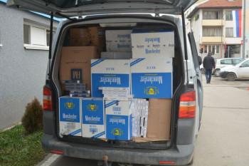 У Закмуру пресјечен шверц цигарета, заплијењено 35.290 паклица