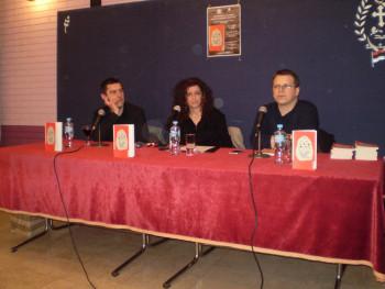 """U Bileći održana promocija romana """"Mulat albino komarac"""", autora Steva Grabovca"""