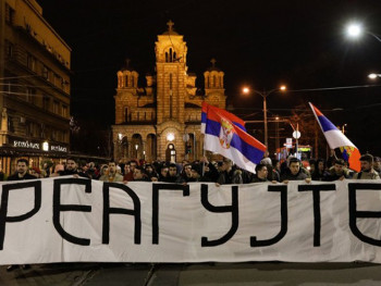 Beograd: Studenti najavili litiju od 70 kilometara