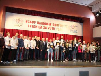 Proglašeni najbolji sportisti Trebinja u 2019. godini