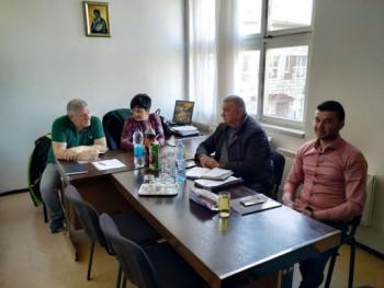 U bilećkom Domu zdravlja 'Sveti Luka' održan sastanak predstavnika Granskih sindikata