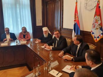 Vučić sa predstavnicima Srba iz regiona, prisustvuju Cvijanovićeva i Dodik