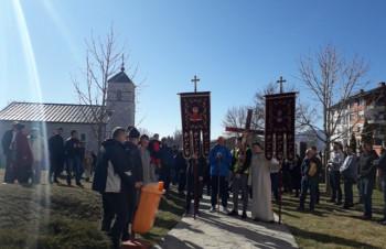 Litija iz Gacka ka Krscu i Manastiru Svetog Save