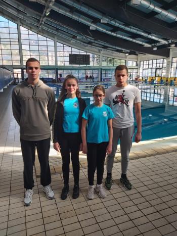 Odličan nastup plivača Leotara na Mimoza Kupu u Herceg Novom - Miloš i Helena osvajači medalja