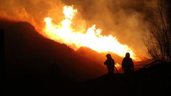 Пожар на подручју села Корита у околини Билеће