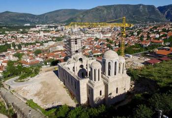 Uskoro redovna bogosluženja u Hramu u Mostaru