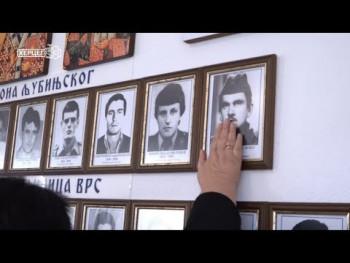 У Љубињу освјештани спомен-соба и споменик погинулим борцима  (ВИДЕО)