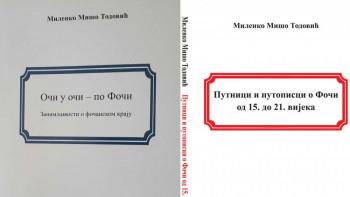 Foča: Objavljene dvije knjige Milenka Miša Todovića