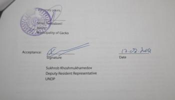 Opština Gacko i UNDP potpisali Sporazum o unapređenju turističke ponude vrijedan 88.500 KM