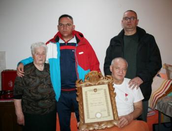 BO Nevesinje: Zahvalnost i poštovanje porodicama poginulih junaka iz Srbije