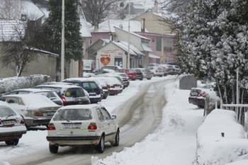 U Nevesinju osvanuo snijeg