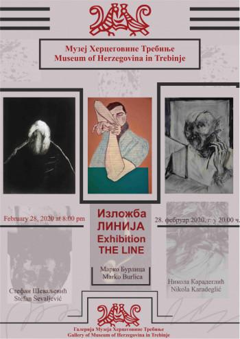 Najava: Otvaranje izložbe 'Linija' u Muzeju Hercegovine