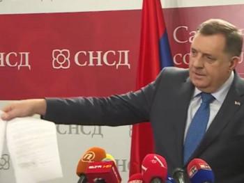ВИДЕО Додик: Потписан коалициони уговор са Мићићем