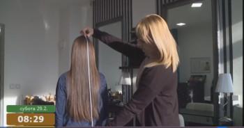 Trinaestogodišnji Lazar Mikić iz Prijedora donirao pola metra kose