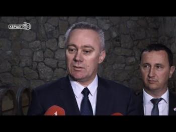 Pašalić u posjeti Vinariji Popovac (VIDEO)