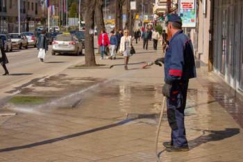 Фоча: Прање улица и Градске пијаце- контрола цијена средстава за хигијену