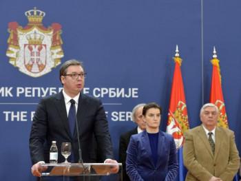 Вучић и Брнабићева вечерас објављују нове мjере за сузбијање ширења вируса