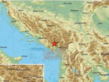 Zemljotres u Crnoj Gori (FOTO)