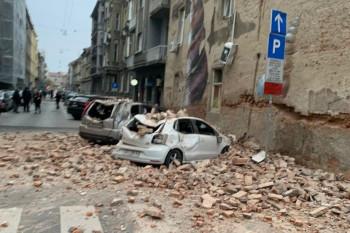 Jak zemljotres pogodio Zagreb