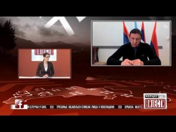 Gost Vijesti: Miodrag Batinić, član Štaba za vanredne situacije Grada Trebinje (VIDEO)