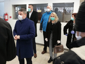 Šeranić, Rajčević i Todorovićeva u posjeti SC