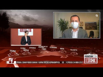 Gost Vijesti: Mirko Ćurić, gradonačelnik Trebinja i komandant Štaba za vanredne situacije (VIDEO)