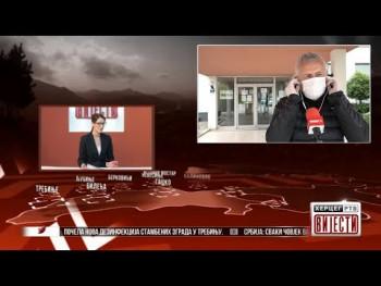 Gost Vijesti: Rajko Ćapin, direktor JU 'Dom penzionera Trebinje' (27.03.2020.)