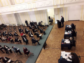 Posebna sjednica Parlamenta; Usvojen dnevni red