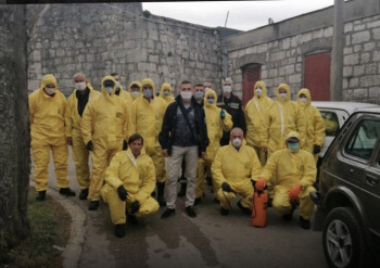 Наставља се са дезинфекцијом- данас зграде у Горици и установе