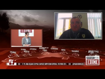 Gost vijesti : Siniša Laketa načelnik PU Trebinje