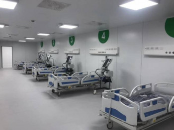 У Италији за 10 дана изграђена болница интензивне његе