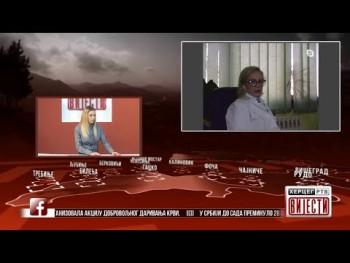 Gost Vijesti u 16.30h: Rada Aleksić, infektolog u Bolnici Trebinje (02.04.2020.)