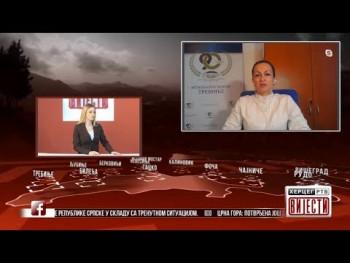 Гост Вијести у 16.30: Др Данијела Јелић (ВИДЕО)