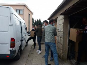 Zavičajni klub Bilećana u Srbiji donirao 110 paketa pomoći