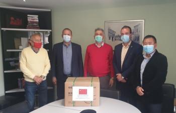 Kineska firma donirala Nevesinjcima zaštitne maske