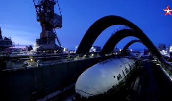 Pogledajte izbliza nadograđenu nuklearnu podmornicu Knez Vladimir (VIDEO)