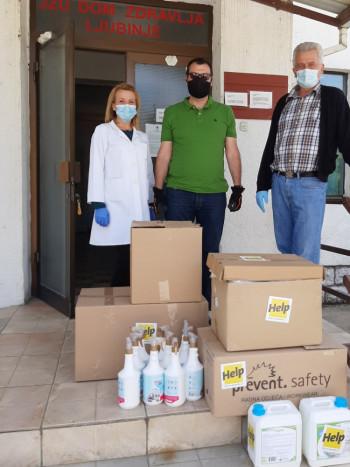 Њемачка невладина организација 'HELP' наставља помагати Љубиње
