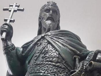 Завршен темељ за споменик Стефану Немањи