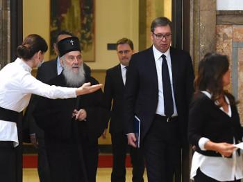 Patrijarh: Crnogorske vlasti da razmisle šta čine; Vučić: Neće biti